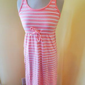 Old Navy Sleeveless Maxi Dress in Salmon for girls